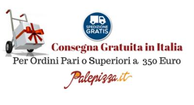 consegna gratuita ordini pari o superiori a 350 euro palepizza.com