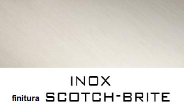 finitura scotch brite