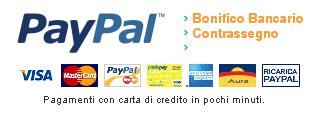 palepizza.com pagamenti accettati