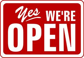 palepizza we are open